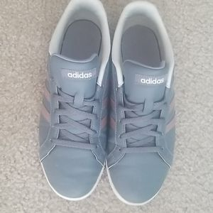 Adidas Grey & Rose Gold Womens Shoes